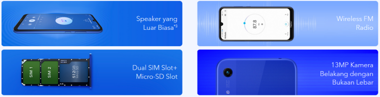 honor 8A spek